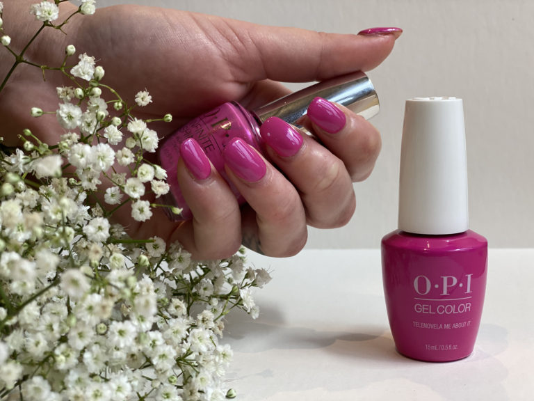OPI-nails-pink-floral-Poppinghole-Farm-Spa